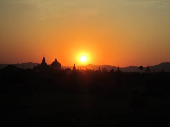 Sunset Bagan